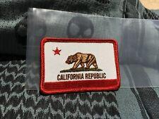 TAD GEAR TRIPLE AUGHT DESIGN CALIFORNIA REPUBLIC VLCRO PATCH STRIDER ITS CSM PDW