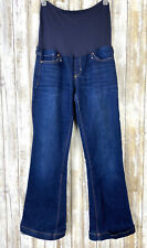 GAP Maternity Bootcut Jeans Full Belly Panel 27/4r Long & Lean