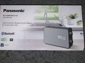 Portable Bluetooth DAB+ Radio Panasonic RF-D30BTEB-K Bnib