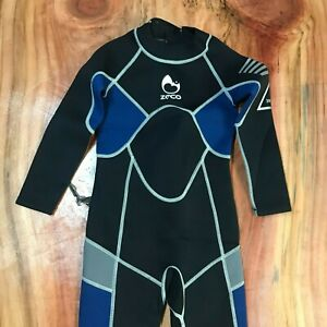 ZCCO Kids Wetsuit 3mm Neoprene Thermal Swimsuit Youth Unisex Size Small T27