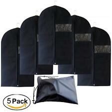 Garment Bags with Shoe Bag Breathable Garment Bag Covers Set  Suit Carriers