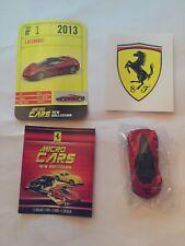 "DIE CAST FERRARI MICRO CARS "" LAFERRARI - 2013 "" USCITA N° 1 1/100 KYOSHO"