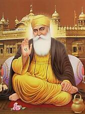 Guru Nanak Dev Ji Sikhism Founder 18x24 - Vinyl Print Poster