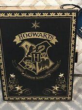 💝💝Harry Potter Bag Hogwarts Hard Clutch Handbag Crest Chain Strap Gold Primark