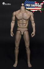 WorldBox 1/6 Muscular Wolverine Body Logan Strong Durable Male Figure ❶USA❶