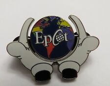 Disney Epcot 2000 Mickey Hands Around the Globe with Epcot Spinner Pin