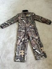 Scent Blocker Camo Hunting Suit, Youth Medium
