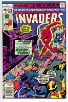 Invaders 27 1st Series Marvel 1978 NM- Captain America Namor Bucky Bondage