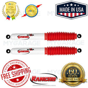 Kit of 2 Rancho RS5000 Front 4 inch lift Lift Shocks for Toyota Mini Pickup 4WD 1979-1983
