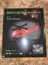 Brixies Brick Toy SWISS Helicopter Schafer Toys Germany VERY RARE New in box