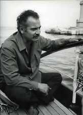 PHOTO ARGENTIQUE RETIRAGE GEORGES BRASSENS 1965 PAR PATRICK BERTRAND