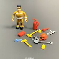 New Fireman Sam with Accessories Action Figures Toys Playset