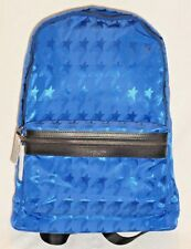 Authentic Michael Kors Cobalt Blue Kent Startooth Backpack Tech Book Bag