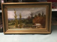 H Staley 71 Framed Oil Painting