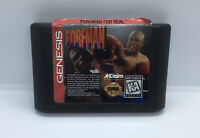 Foreman for Real (Sega Genesis, 1995) Loose Good Condition Fast Shipping