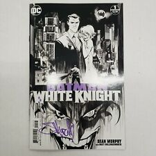 DC Black Label Batman White Knight 1 3rd Printing Signed by Sean Murphy