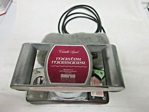 Morfam Master Massager M73-625A Variable Speed 0-4600RPM, NICE  Free Ship