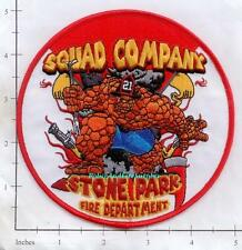 Illinois - Stone Park Squad Company 21 IL Fire Dept Patch
