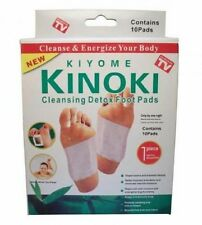Cure 3 boîtes Kiyome Kinoki - Patch detox plantaire - Foot patch anti toxine