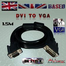 DVI (29 Pin) -TO- VGA / SVGA (15Pin) CABLE/LEAD - PC TO VGA Monitor (1.5 METRES)