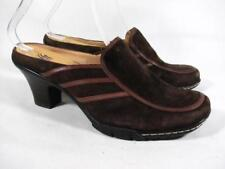 Sofft Wedge Mule Women size 7 Brown Suede