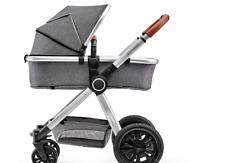 Kinderkraft Kinderwagen 2 in 1 VEO, Kinderwagenset, Kombikinderwagen, Sportwagen