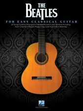 The Beatles Sheet Music for Easy Classical Guitar Guitar Solo Book NEW 000124414