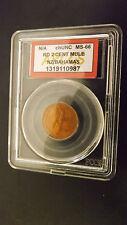 MULE BAHAMAS/N.Z.  MS66 POP 1 0