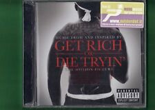 GET RICH OR DIE TRYIN OST COLONNA SONORA 50 CENT CD NUOVO SIGILLATO