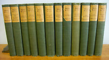 Works of SIR WALTER SCOTT, 12 Vols Limited Edition Deluxe circa 1900