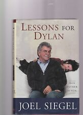 Lessons for Dylan by Joel Siegel (2003, Hardcover)