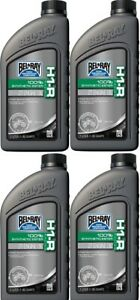 4 Bottles Bel Ray H1-R Synthetic Ester 2-Stroke Oil 1L BelRay Motorcycle ATV