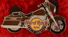 Hard Rock Cafe Pin KUALA LUMPUR Motorcycle LE 50 bike cruiser saddlebags lapel