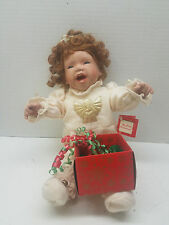 "Kathy Barry Hippensteel My First Christmas 12"" Doll w Tag Hand Numbered TA0139"