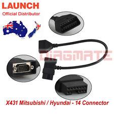 Original LAUNCH X431 Mitsubishi Hyundai-14+16 for PRO3 PRO SCANPAD PAD2 IDIAG