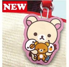 San-X Rilakkuma Korilakkuma Key Case, Key Cover, Pass Case, Card Holder (10c63)