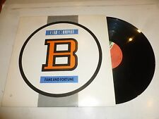 BAD COMPANY - Fame And Fortune - 1986 US 10-track vinyl LP