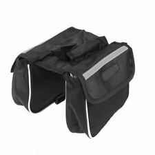 Cycling Bicycle Bike Frame Pannier Saddle Front Tube Bag Double Sides