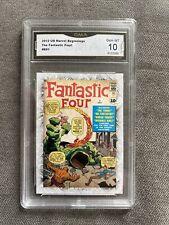 2012 Marvel Beginnings Series Fantastic Four Vol 1 #B91 GMA 10 Gem Mint PSA CGC