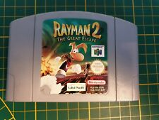 GAME GAMEBOY JEU NINTENDO 64 N64 RAYMAN 2 THE GREAT ESCAPE 64 NUS-NY2P-EUR PAL