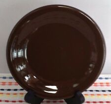 Fiestaware Chocolate Bread and Butter Plate Fiesta Retired Small Brown Plate