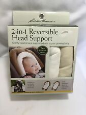 Eddy Bauer 2-in-1 Reversible head support ivory/off white