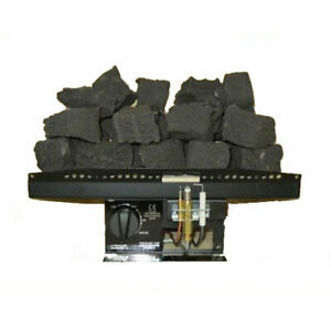 """16"""" New Living Flame Coals Gas Fire VICTORIAN Inset Fire Tray Coal 9 Sizes UK !!"""