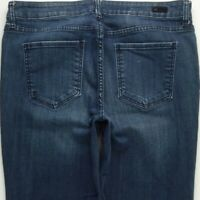 KUT from the Kloth Jessica Straight Leg Jeans Women's 14 Stretch A167J