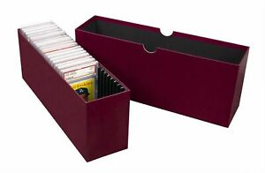 BCW Slotted Storage Box for PSA Graded Card Slabs Store & Organize
