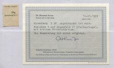 "Lokalausgabe Spremberg 9 BF ""fehlende 5"" BPP-Kurzbefund sehr selten! (B07203)"