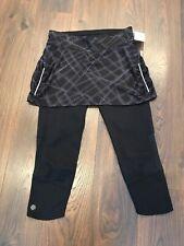 NUOVI Donna Cintura Elastica bagnato Breve Mini Gonna Longuette Taglie 8-26