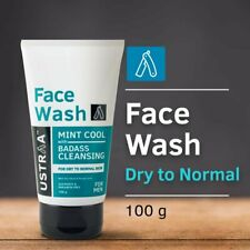 New Ustraa face wash for dry skin mint cool 100g | Free Shipping worldwide