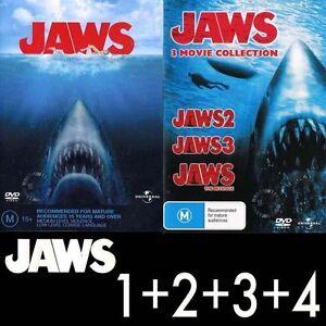 JAWS 1 2 3 4 The Revenge : NEW DVD : Steven Spielberg