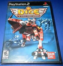 D.I.C.E. - DNA Integrated Cybernetic Enterprises - PS2 - New! Free Shipping!